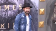 AJ McLean at the 'King Arthur Legend of the Sword' Premiere at TCL Chinese Theatre on May 08 2017 in Hollywood California