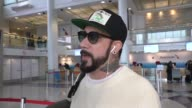 J McLean talks about Kanye West meeting with Donald Trump while departing at LAX Airport in Los Angeles in Celebrity Sightings in Los Angeles