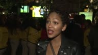 INTERVIEW Meagan Good on why she wanted to support the cause why education is important to her if she had a teacher or mentor that made and impact on...