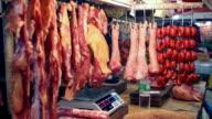 HD meat market in Asia