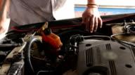 Mechanic in auto repair