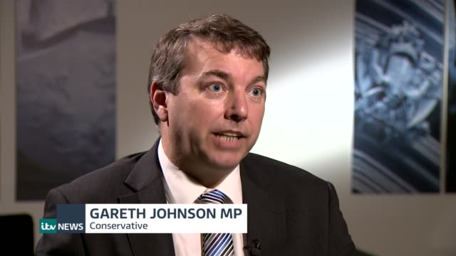 Medals law to protect veterans passes first Commons test London Gareth Johnson MP interview SOT