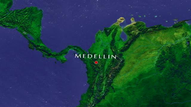 Medellin 4K Zoom In