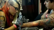 Medellins sixth annual tattoo convention attracted hundreds of attendees as well as professional tattoo and body artists that aimed to show how...