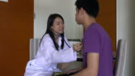 Medical Check Up by female doctor