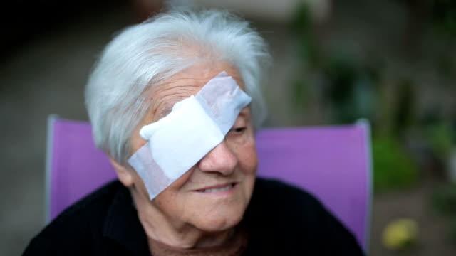 Medizinische Augenklappe
