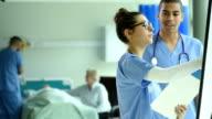 Riunione del team medico di Reparto di ospedale