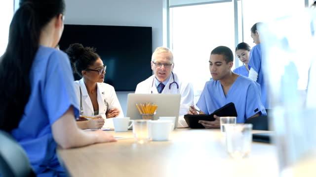 medische teamvergadering