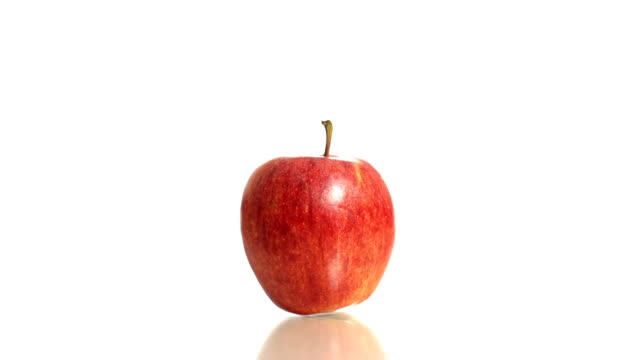 HD: Medicaments Falling Over An Apple