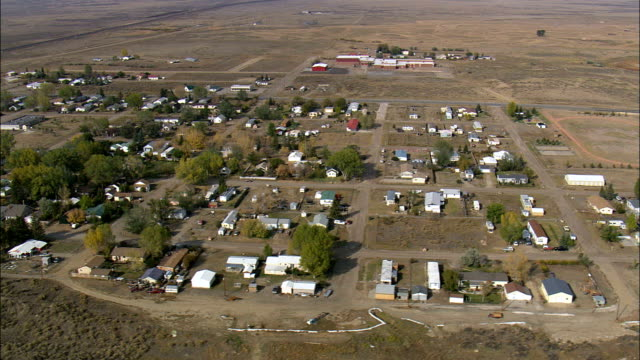 Medicine Bow  - Aerial View - Wyoming, Carbon County, United States