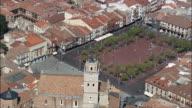 Medina Del Campo Main Square  - Aerial View - Castille and León, Valladolid, Medina del Campo, Spain
