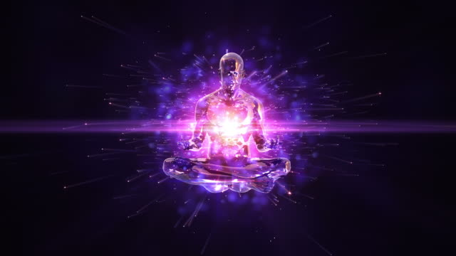 HD: Meditation Endlos wiederholbar Hintergrund