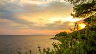 T/L Mediterranean Cloudscape At Sunset