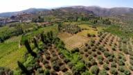 Mediterranean Landscape from air