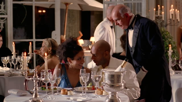 Image result for person drinking in fancy restaurant