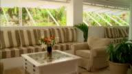 Meduim shot resort lounge/ Harbour Island, Bahamas