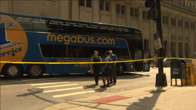 A Megabus struck and killed an elderly woman Donna Halstead as she crossed the street The driver Shemeka Hudson was cited with failure to yield to a...