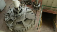 1.5 Megawatt Hydroelectric Turbine Generating Electricity