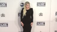Meghan Trainor at 2015 American Music Awards Arrivals in Los Angeles CA