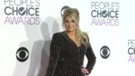 Meghan Trainor at the People's Choice Awards 2016 at Nokia Plaza LA LIVE on January 6 2016 in Los Angeles California