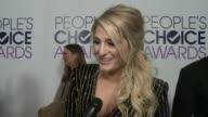INTERVIEW Meghan Trainor on what this particular award means to her where she'll keep it how she plans on celebrating her win tonight who she'd love...