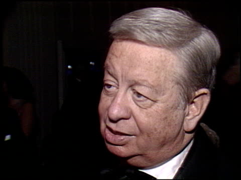 Mel Torme at the Jerry Lewis Benefit at the Beverly Hilton in Beverly Hills California on May 12 1989