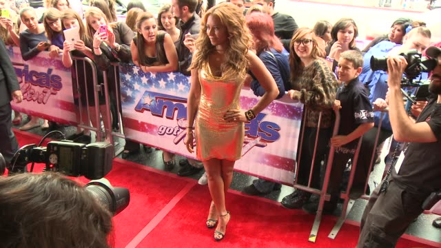 Melanie Brown at 'America's Got Talent' Red Carpet Melanie Brown at 'America's Got Talent' Red Carpet at the Pantages Theatre on April 24 2013 in...