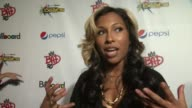 Melanie Fiona gives Pepsi and Billboard a shout out at PEPSI Billboard Present The Summer Beats Concert Series Celebrating Michael Jackson at Gotham...