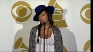 Melanie Fiona on her GRAMMY nomination on meeting CeeLo Green on Adele being her inspiration on her upcoming album and 2012 plans at the The GRAMMY...