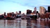 Melbourne Docklands giorno alla notte, Time lapse