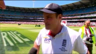 Melbourne EXT Reporter to camera Andrew Strauss interview SOT Incredibly special hard to put into words We all know that winning the Ashes out in...