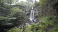 Melincourt Waterfall, Neath South Wales, UK.