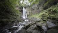 Melincourt Waterfall, Neath South Wales, UK.