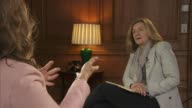 Melinda Gates criticises Donald Trump foreign aid family planning cuts ENGLAND London INT Melinda Gates interview SOT It changes the game of the...
