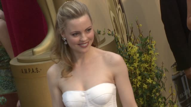 Melissa George at the 81st Academy Awards Arrivals Part 6 at Los Angeles CA