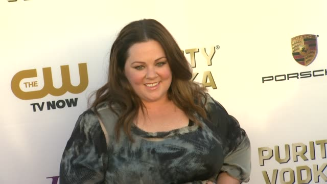 Melissa McCarthy at 19th Annual Critics' Choice Movie Awards Arrivals at The Barker Hanger on in Santa Monica California