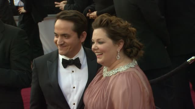 Melissa McCarthy at 84th Annual Academy Awards Arrivals on 2/26/2012 in Hollywood CA