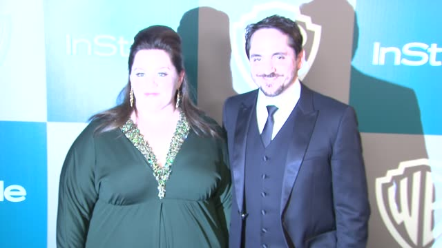 Melissa McCarthy at the 13th Annual Warner Bros And InStyle Golden Globe AfterParty at The Beverly Hilton Hotel on 1/15/12 in Los Angeles CA