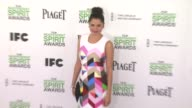 Melonie Diaz at 2014 Film Independent Spirit Awards Arrivals on March 01 2014 in Santa Monica California