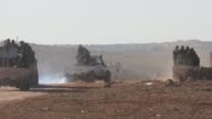 Members of Free Syrian Army attack to Daesh positions in alBab town of Aleppo as they advance to alBab town of Aleppo during the 'Operation Euphrates...