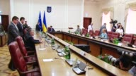 Members of the Ukrainian government met Friday following after the resignation of Ukraines PM Arseniy Yatsenyuk on Thursday in protest of the...