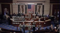 Members of the US House of Representatives vote 2481771 on abortion survivor bill sending the legislation to the Senate