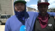 Members of two of Baltimores warring gangs the Bloods and the Crips tell AFPTV theyve come to a truce in the face of the crisis facing their city