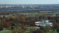 Memorial Amphitheater at Arlington National Cemetery; Washington DC across river in background. Shot in 2011.