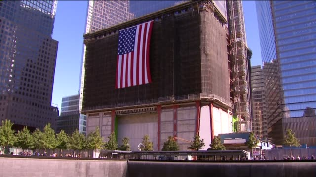 Memorial at Ground Zero 11 years after the 2001 terrorist attack on September 11 2012 in New York New York
