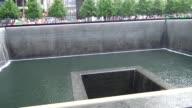 Memorial at the World Trade Center Ground Zero / Downtown Manhattan New York City USA