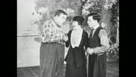 Buster Keaton and Fatty Arbuckle are at a loss after the strongman, the dancer, and other cast members quit the show, but the strongman's assistant (Molly Malone) comes to them with an idea