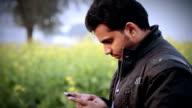Men Holding Smartphone