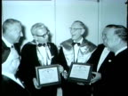 Men honored at aBanquet in Chicago in 1962