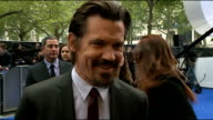 'Men in Black III' film premiere celebrity arrivals Josh Brolin interview SOT On making Director Barry cry On making Will Laugh On watching the film...